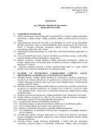 Nolikums par vēlēšanām administratīvajos amatos Daugavpils ...