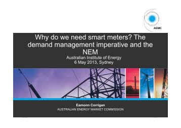 Presentaiton - Australian Institute of Energy