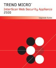 InterScan Web Security Appliance Upgrade Guide - Online Help ...