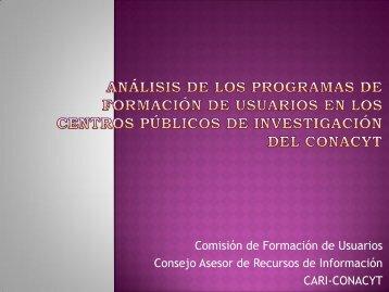 Julio César Ramírez, Lil Bidart. Análisis de los programas de ...