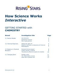 How Science Works Interactive