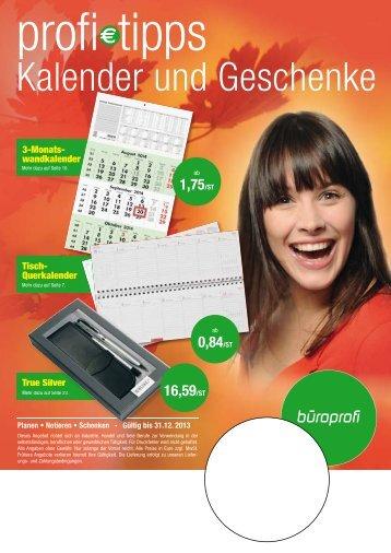 Kalender 2013 herunterladen - Buerobedarf24.eu