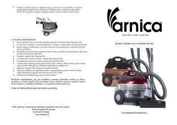 Arnica Jumbo Eco - Jumbo - UAB Krinona - prekių instrukcijos ...