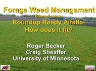Roundup Ready Alfalfa - How does it fit? - Applied Weed Science ...