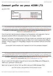 Comment gonfler ses pneus A038R LTS - Fichier PDF