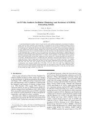 An El Nino--Southern Oscillation CLImatology and ... - NOAA