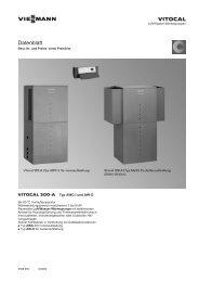 Datenblatt Vitocal 300-A