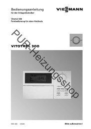 Bedienungsanleitung - PUR-Heizungsshop