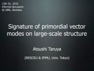 Signature of primordial vector modes on large-scale structure