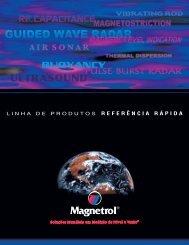 Linha De Produtos Referencia Rapida BZ41-114 - Magnetrol ...