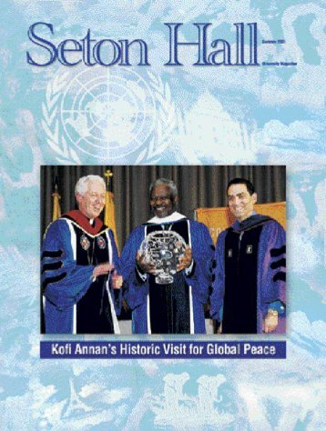 Seton Hall Magazine, Summer 2001 - TLTC Blogs - Seton Hall ...