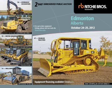Edmonton - Ritchie Bros. Auctioneers