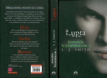 lisa j. smith – lupta