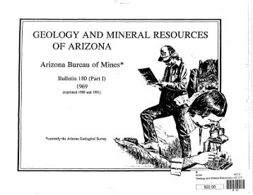 Geology and Mineral Resources of Arizona -Part 1 Report - AZGS ...