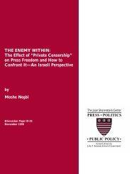 "The Effect of ""Private Censorship"" - Joan Shorenstein Center on the ..."