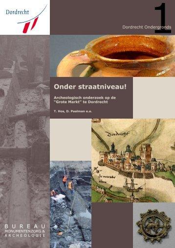 Onder straatniveau! - Gemeente Dordrecht