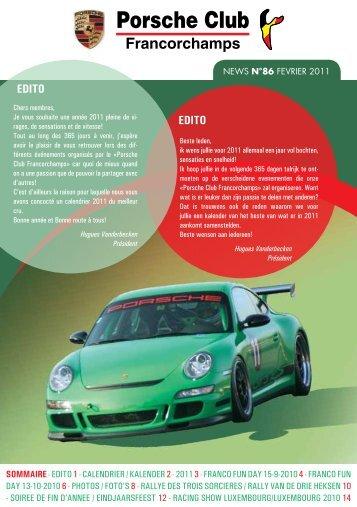 News 86 - Porsche Club CMS