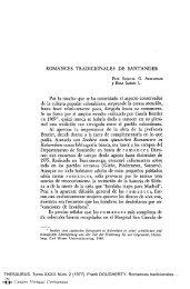 Romances tradicionales de Santander - Centro Virtual Cervantes
