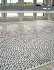 ENTRANCE SYSTEMS & MATTING Foot Grilles - Mats Inc.