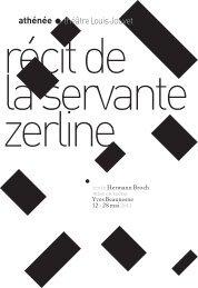 texte Hermann Broch mise en scène Yves Beaunesne 12 › 28 mai ...