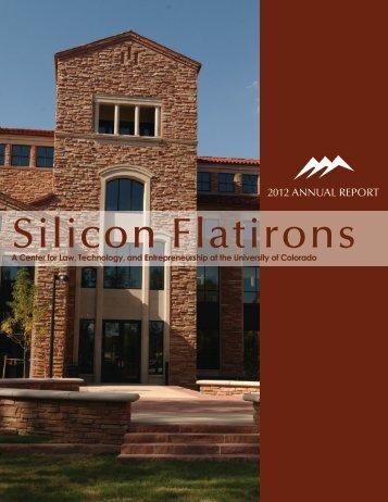 2012 Silicon Flatirons Annual Report