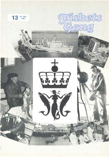 Fiskets Gang. Nr 13. 1978