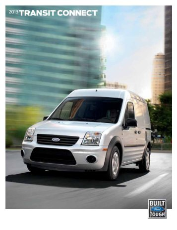 2013 Ford Transit Connect Brochure - ClickMotive