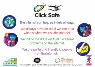 Click aware poster - Somerset Learning Platform - Somerset County ...