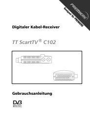 Digitaler Kabel-Receiver - Antennenservice GmbH Spremberg