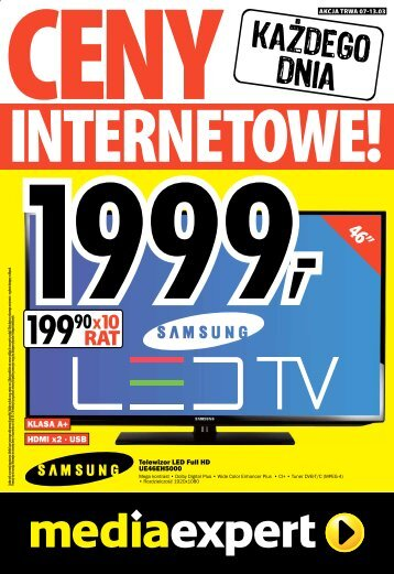 HDMI x2 ? USB KLASA A+ - Mediaexpert.pl