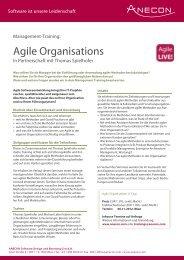 06 Agile Organisations Training (863 kb) - Anecon