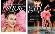 Show Girl Memoirs Of An Aussie - David Leser