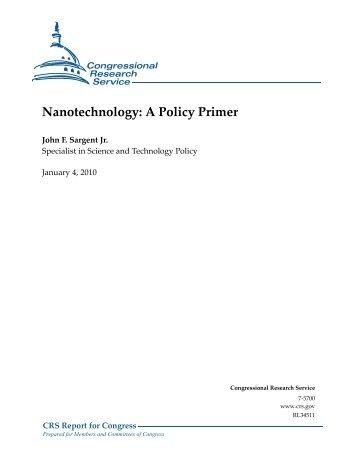 Nanotech - Foreign Press Centers