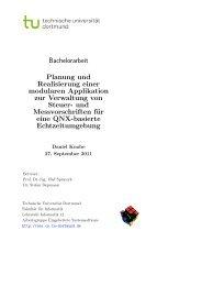 Planung und Realisierung einer modularen Applikation zur ...