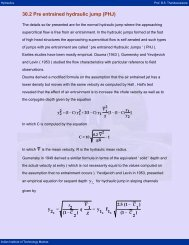 29 2 Turbulent Characteristics of the Jump - nptel - Indian