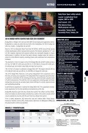 2010 DODGE NITRO IGNITES MID-SIZE SUV ... - Motorwebs