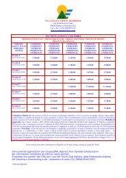 Tel. e fax (+39) 0828851135 Info ... - Campeggi in Italia