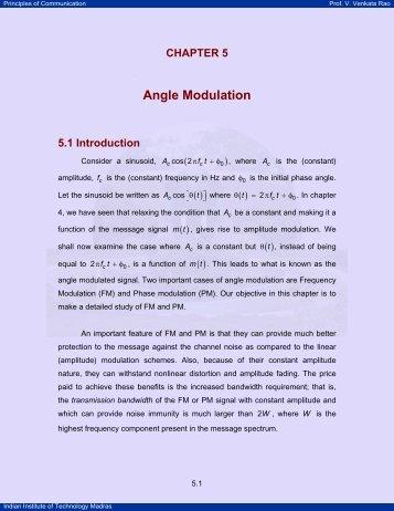 ANGLE MODULATION NPTEL PDF
