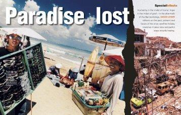 Paradise lost - David Leser