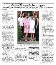 Capstone Mortgage Makes It Happen - Colonial Times Magazine