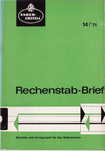 Rechenstab-Brief - Slide Rule Museum
