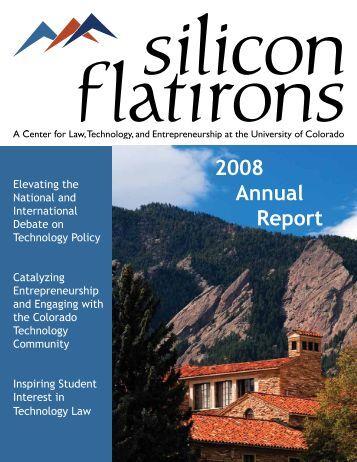2008 Annual Report - Silicon Flatirons