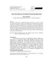 Full text (pdf) - Facultatea de Stiinte Socio-Umane, Universitatea din ...