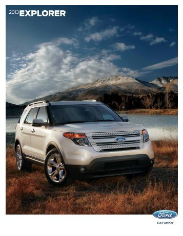 2013 EXPLORER - Motorwebs