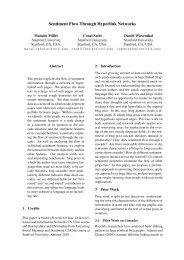 Sentiment Flow Through Hyperlink Networks - SNAP - Stanford ...