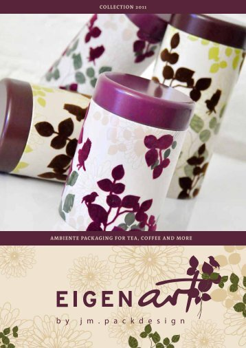 Ambiente pAckAging for teA, coffee And more collection 2011