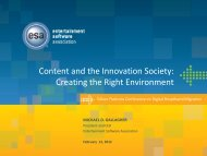 Content and the Innovation Society: Creating the ... - Silicon Flatirons