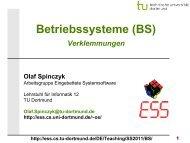 BS: 06 - Verklemmungen - TU Dortmund