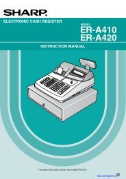 Sharp_ER-A410_Instru.. - Cash Registers