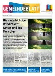 Gemeindeblatt - Reformierte Kirchgemeinde Solothurn
